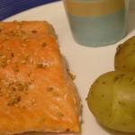 La cuisson parfaite du saumon : le saumon confit de Patricia Wells