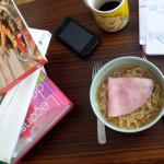 Les déjeuner de ceux qui travaillent chez eux – Nouilles chinoises à la Ponyo