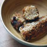 Glamorgan sausages – saucisses végétariennes de pain au poireau- pour faire la food revolution
