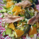 La salade qu'on ne peut faire qu'à la croisée des saisons ou quand le printemps n'en finit pas d'arriver