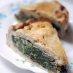 La trendy green pie, en VO historique tourte de porée (blettes & chou-rave power inside)