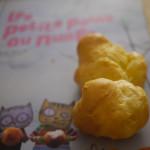 Les petits pains au nuage (a.k.a gougères au brie de Meaux)