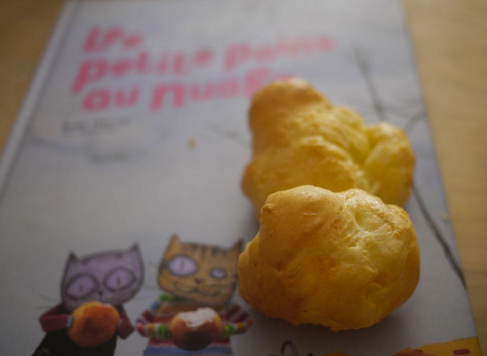 les petits pains au nuage (a.k.a gougères au brie de meaux ... - Cours De Cuisine Meaux