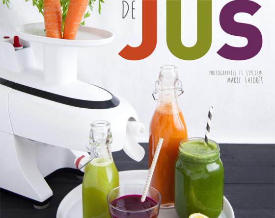 """Découvrez mon nouveau livre """"Extracteur de jus""""  aux éditions La Plage."""