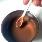 La parfaite sauce au chocolat  à dégainer en cas d'urgence